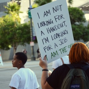 Photos: Occupy LA's 1 Week Anniversary